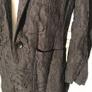Gorgeous black lace jacket!